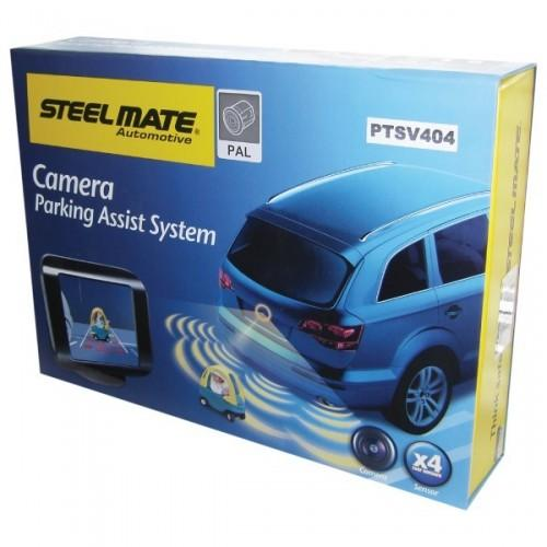 Steelmate Rear Parking Sensors + Camera/Monitor-Steelmate-adaptationstation
