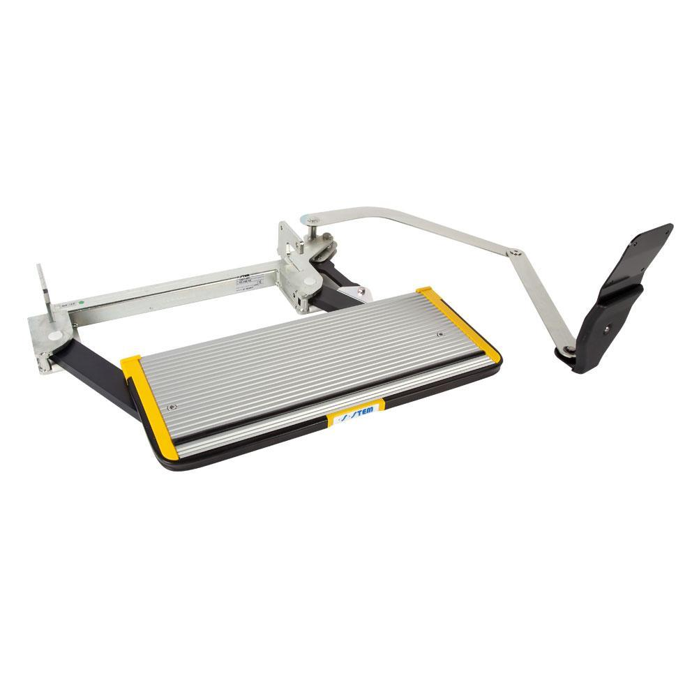 Stem Side Action Step – 610mm Door Operated