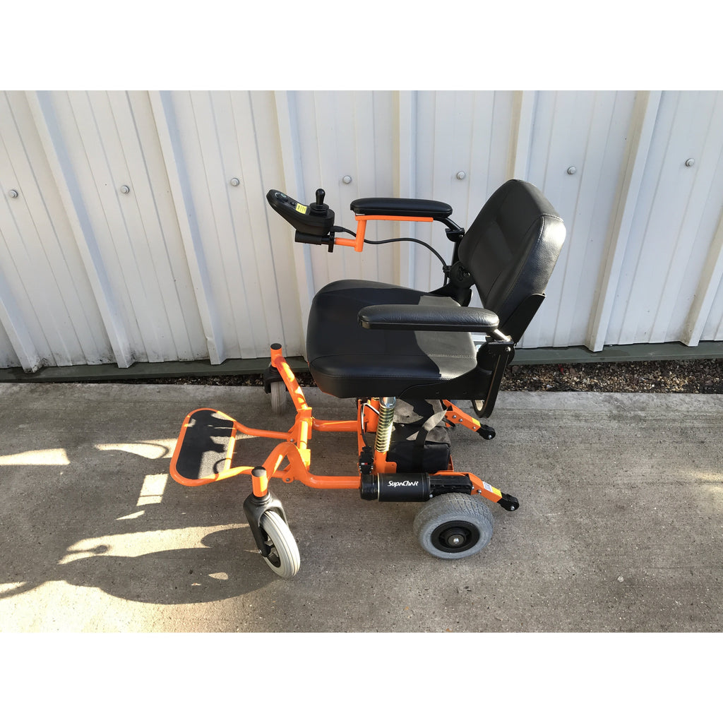 Supachair travel Powered Wheelchair Display Model New-Cavendish Healthcare-adaptationstation