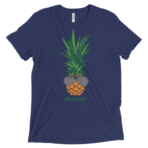 Abacaxi - It Means Pineapple in Portuguese (MORE COLORS) - Bella + Canvas Triblend Tee