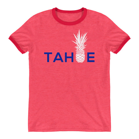 All America Tahoe on Anvil Ringer Tee