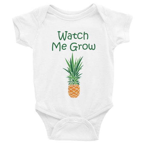 Watch Me Grow American Apparel 4001 Onesie MORE COLORS