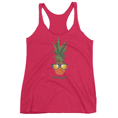 FINEAPPLE Piña on Next Level Triblend Racerback Tank (MORE COLORS)