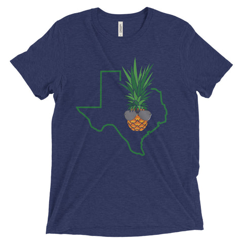 Dark Shaded Piña (MORE COLORS) on Bella + Canvas Triblend T-Shirt with Tear Away Label