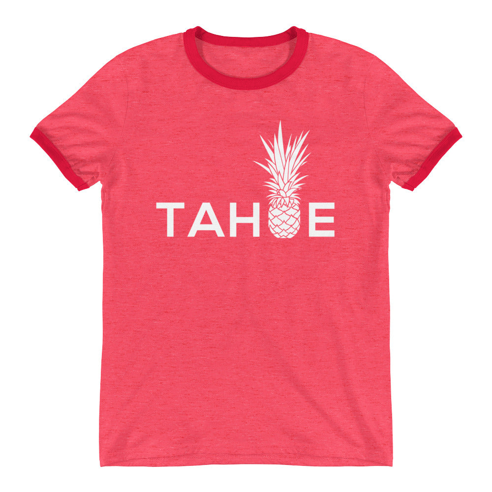 Piña Tahoe on Anvil Lightweight Ringer Tee
