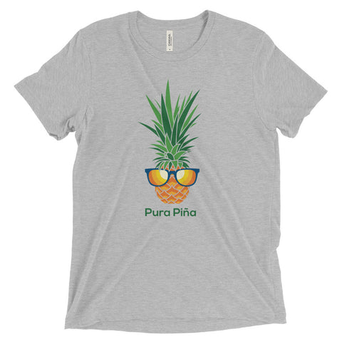 Pura Piña (MORE COLORS) on Bella + Canvas Triblend with Tear Away Label