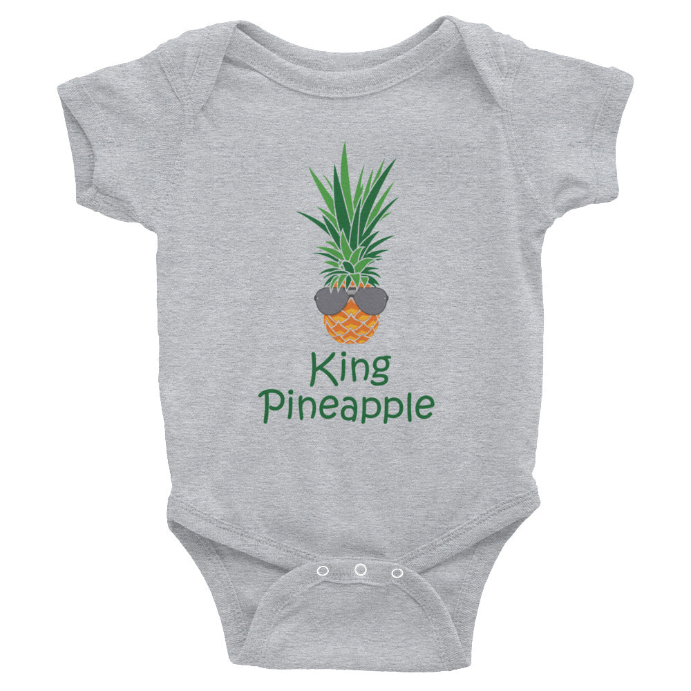 King Pineapple on Rabbit Skins Onesie