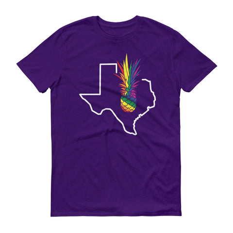 ATX Pineapple Pride (MORE COLORS) on Anvil Lightweight Fashion Tee Tear Away Label