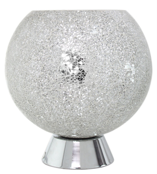 Silver Mosaic Ball Light