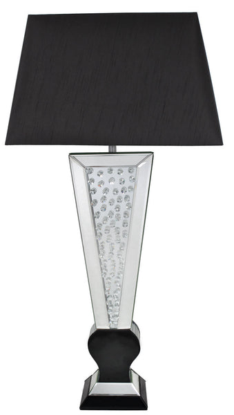Black Astoria Mirror Table Lamp