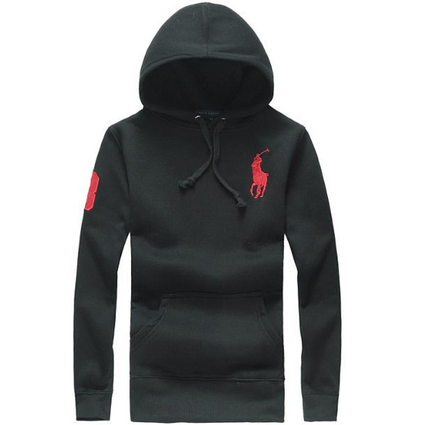 Ralph Lauren Big Pony Classic Fleece Hoodies For Men Classic Cut