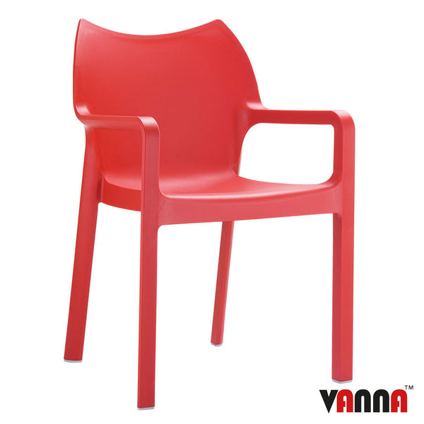 PEAK Arm Chair Red