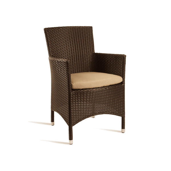 STAG Comfort Arm Chair Mocca