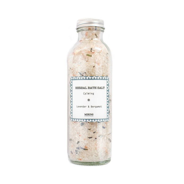 Herbal Bath Salt - Calming - Lavender & Bergamot