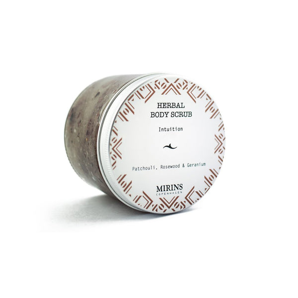 Body Scrub - Intuition - Patchouli, Rosewood & Geranium