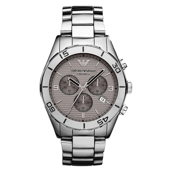 Emporio Armani AR1462 Mens Ceramic Chronograph Watch