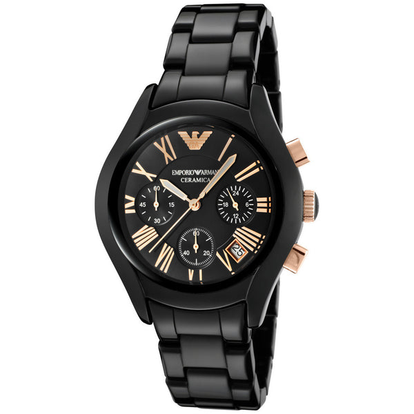 Emporio Armani AR1411 Unisex Small Face Ceramica Watch