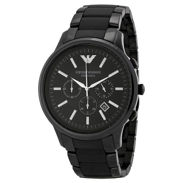 Emporio Armani AR1451 Ceramic Chronograph Watch For Men