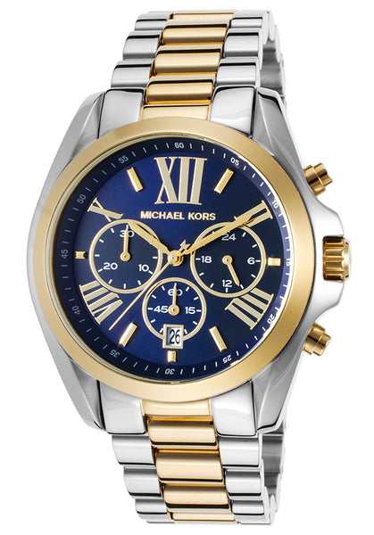 Michael Kors MK5976 Ladies Bradshaw Two Tone Watch