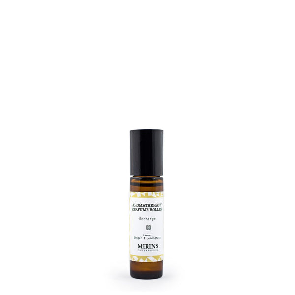 Perfume Roller - Recharge - Lemon, Ginger & Lemongrass