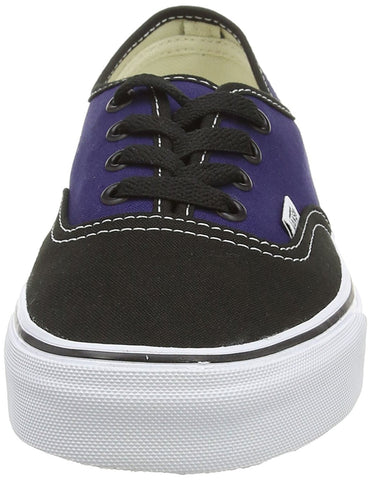 606369e9c9 Vans Unisex Authentic 2 Tone Black Patriot Blue Skate Shoes Men Women