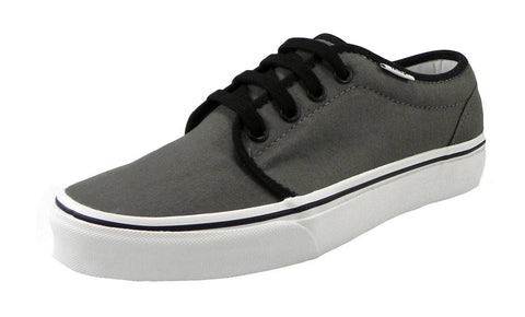 Vans 106 Vulcanized Pewter Black Unisex Shoes Men/Women Sneakers