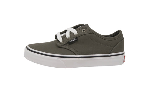 Vans Kid's Shoes Atwood Canvas Charcoal Gray Fashion Sneakers