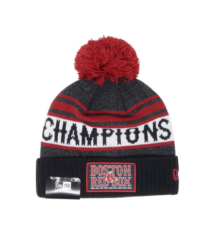 New Era Boston Red Sox Knit Beanie Champions Hat 12052565