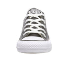 Converse All Star Low Synthetic Leather Men/Women Black/White Shoes