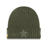 New Era Cap Men's Dallas Cowboys STS Green Beanie