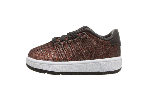 K-Swiss Girls Classic Vn Bronze Sparkle Sneakers
