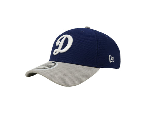 New Era 39Thirty Hat Los Angeles Dodgers  Royal Blue/Gray Flex Cap