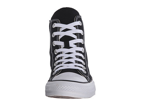 1906e1c3381c Converse All Star Hi Black White Kids Youth Boys Girls Shoes ...