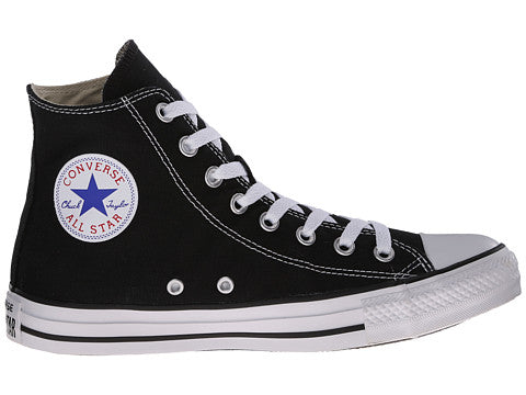 536793a8ca753e Converse All Star Hi Black White Kids Youth Boys Girls Shoes ...