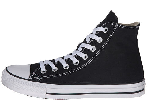 a6a32249e1b Converse All Star Hi Black White Kids Youth Boys Girls Shoes ...