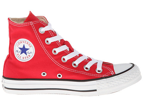 3cf3e278cf19 Converse All Star Hi Red White Kids Youth Boys Girls Shoes ...