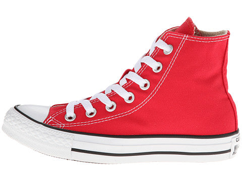 Converse All Star Hi Red White Kids Youth Boys Girls Shoes
