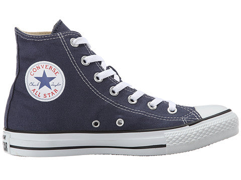 ab06cc62410 Converse All Star Hi Navy Blue Kids Youth Boys Girls Shoes ...