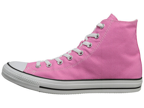 Converse All Star Hi Pink White Kids Youth Boys Girls Shoes