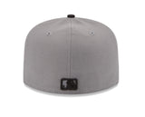 New Era Atlanta Braves Storm Gray/Black Fitted Hat