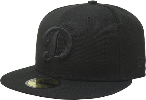 "New Era 59Fifty Hat MLB Basic Los Angeles Dodgers ""D"" Black"