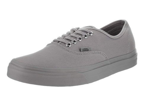 Vans Unisex Shoes Authentic Mono Frost Gray Sneakers