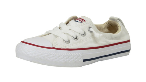 Converse All Star Shoreline Slip On White Youth Shoes
