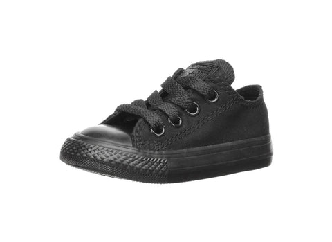 Converse All Black Chuck Taylor All Star Low top Toddler's Shoes
