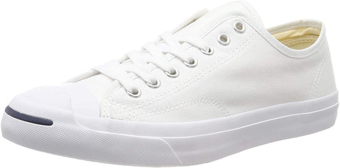 Converse Unisex shoes Jack Purcell Canvas White Low Top Sneakers