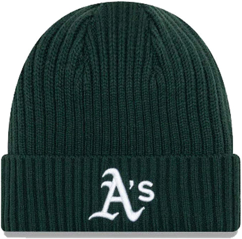 New Era MLB Oakland Athletics Dark Green/White Beanie 11946937