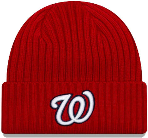New Era MLB Washington Nationals Red/White Beanie 11946931