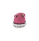 Converse 2V Ox Low Pink Ivory/White Infant/Toddler Girls Shoes