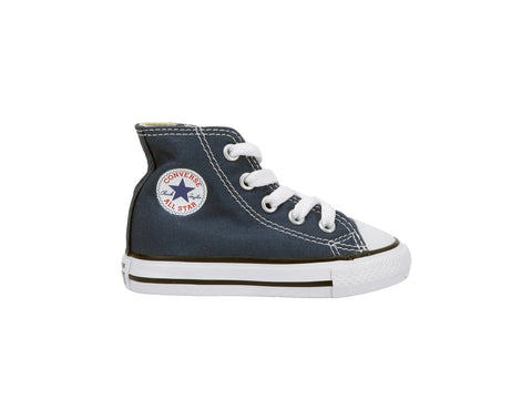 f09df9ec6aeb Converse All Star Hi Navy Blue Toddler Infant Baby Shoes – ShoeAngle.com