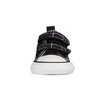 Converse All Star 2V Low Top Toddler/Infant Black/White Shoes